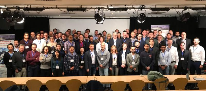 Group picture of the participants of the workshop on 2D materials at Forum M in Novemebr2019